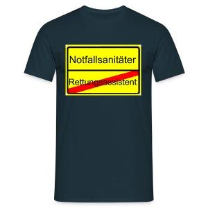 Notfallsanitäter - Der neue Beruf - Männer T-Shirt