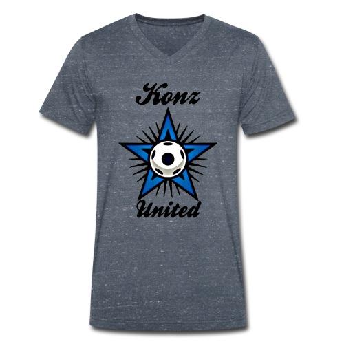 United V-Neck-Shirt - Männer Bio-T-Shirt mit V-Ausschnitt von Stanley & Stella