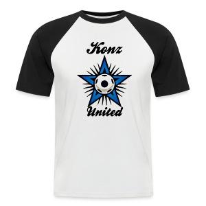 United Shirt im Baseball-Look - Männer Baseball-T-Shirt