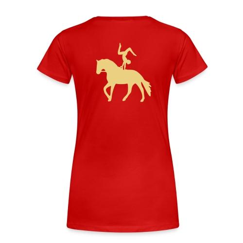 Handstand rückwärts auf Pferd T-Shirts - Frauen Premium T-Shirt