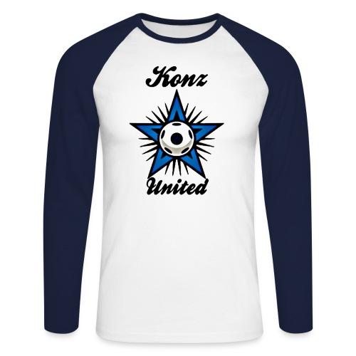 United Longsleeve - Männer Baseballshirt langarm