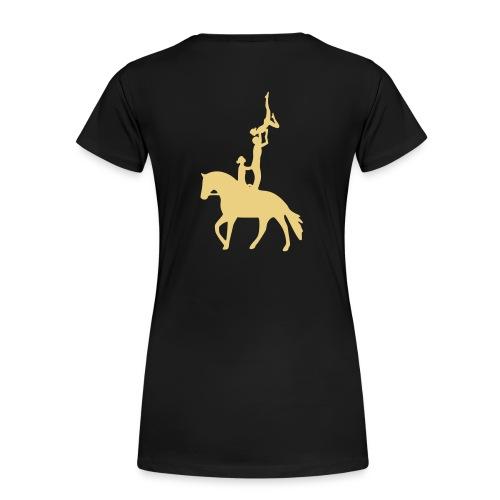 Voltigieren Dreierübung Kür T-Shirts - Frauen Premium T-Shirt