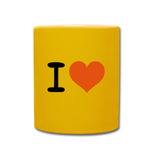 Mug uni - Mug i love you .coeur.love.j'aime. Reisboutique