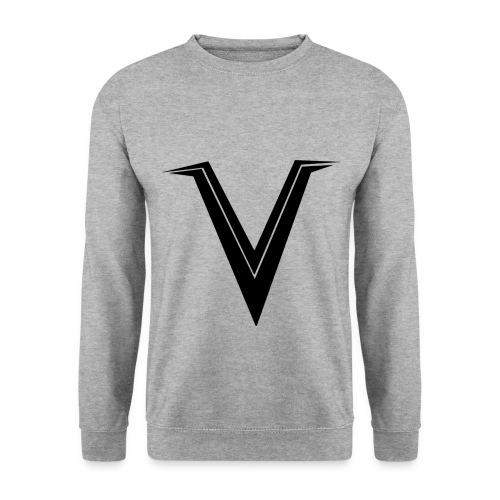 Venority Pullover mit schwarzem Logo - Männer Pullover