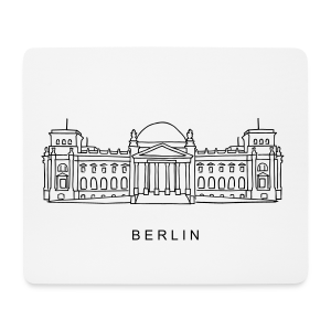 Bundestag in Berlin - Mousepad (Querformat)