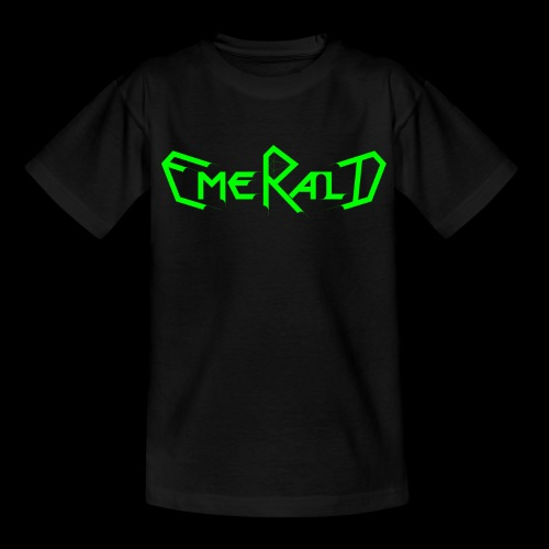 Schriftzug groß für Kids - Kinder T-Shirt