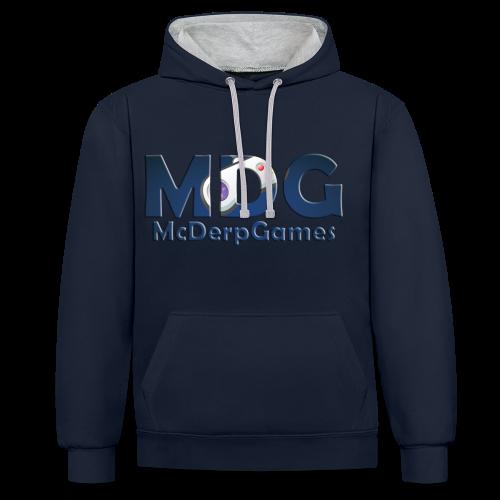 MDG McDerpGames Hoodie - Contrast hoodie