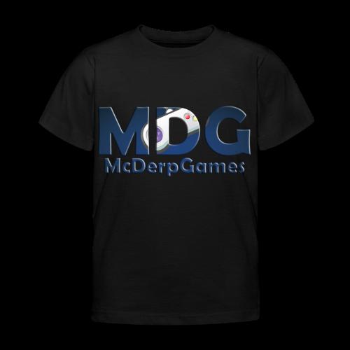 MDG McDerpGames Shirt Kinderen - Kinderen T-shirt