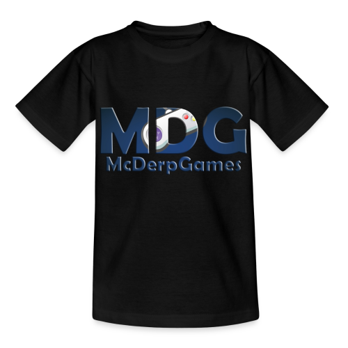 MDG McDerpGames Shirt Tieners - Teenager T-shirt