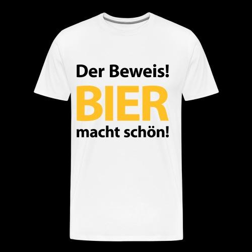 t-shirt bier - Männer Premium T-Shirt
