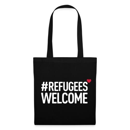 #refugeeswelcome - Stoffbeutel