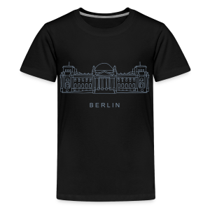 Bundestag in Berlin - Teenager Premium T-Shirt