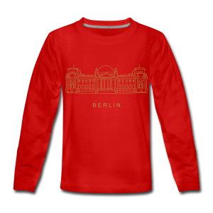 Bundestag in Berlin - Teenager Premium Langarmshirt