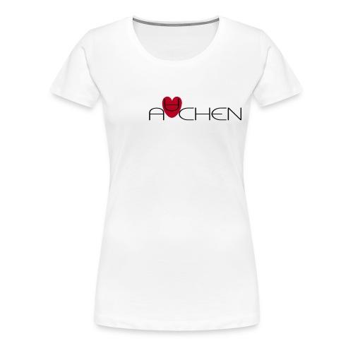 Aachen - Frauen Premium T-Shirt