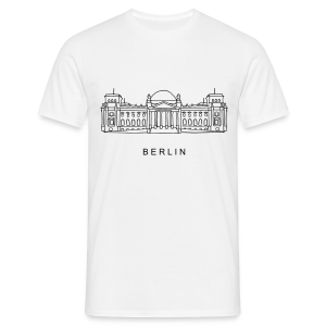 Bundestag in Berlin - Männer T-Shirt
