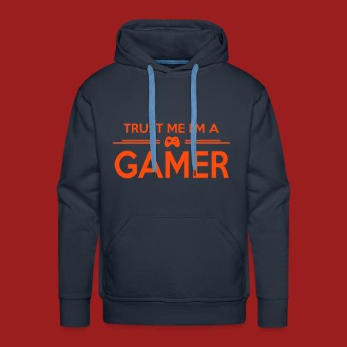 Gamer Hoodie - Herre Premium hættetrøje