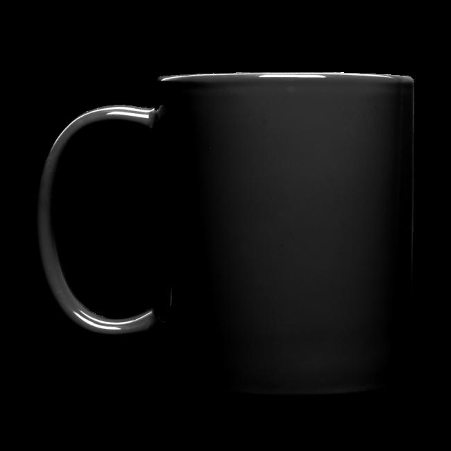 "Full Colour Mug ""bLoops Puzzle"" (printed white shadowed)"