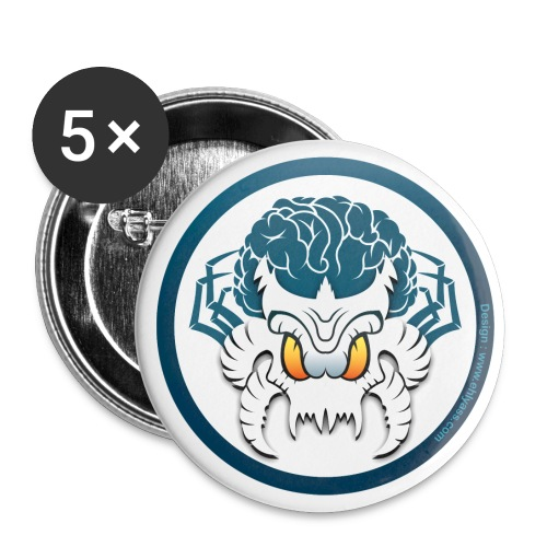 Badge le Temps des monstres - Badge grand 56 mm