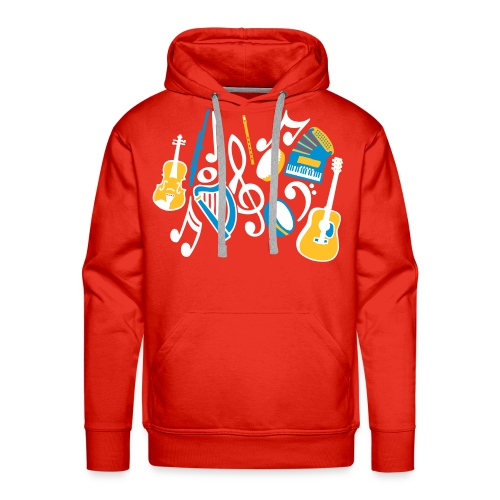 TTT Irish Music Fan - Men's Premium Hoodie