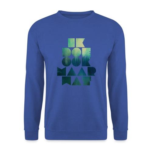 Ik doe maar wat mannen sweater Russel - Mannen sweater