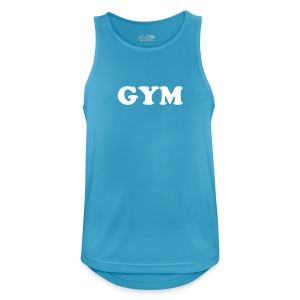 Gym tank top - Men's Breathable Tank Top