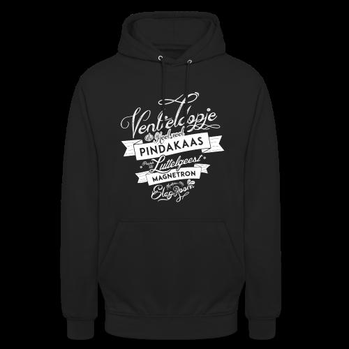 Ventieldopje unisex hoodie - Hoodie unisex