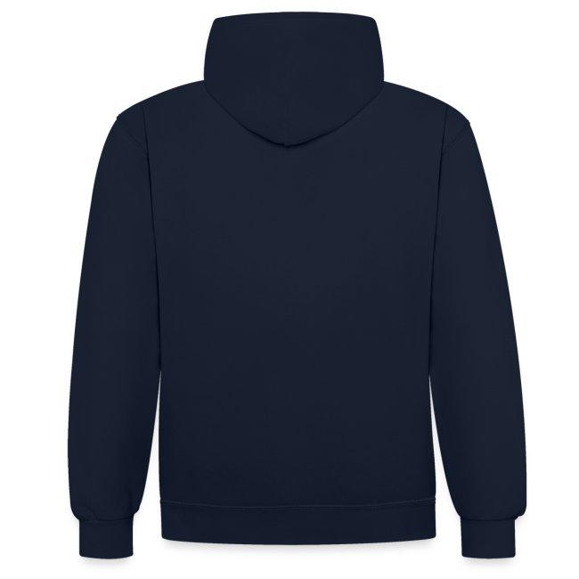 Ventieldopje unisex contrast hoodie