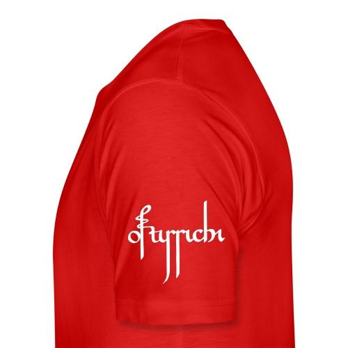 Ostarrichi Shirt Mann Ärmel Rot - Männer Premium T-Shirt