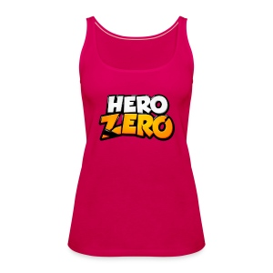 Hero Zero - Female Premium Tank Top - Women's Premium Tank Top