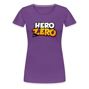 Hero Zero - Premium Female T-Shirt - Women's Premium T-Shirt