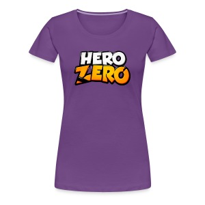 Hero Zero - Premium Female T-Shirt - Women's Premium T-Shirt