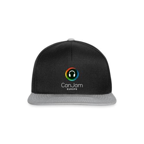CanJam Europe - trucker cap (logo wt) - Snapback Cap