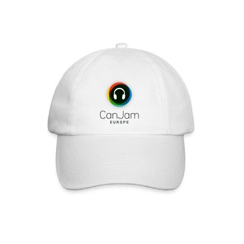 CanJam Europe - baseball cap (logo bk) - Baseball Cap