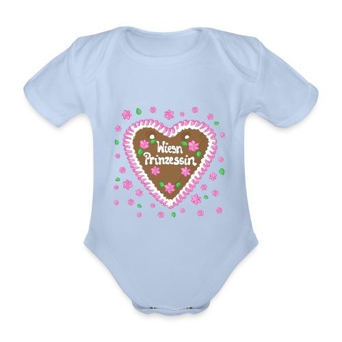 Wiesn Prinzessin - Baby Bio-Kurzarm-Body