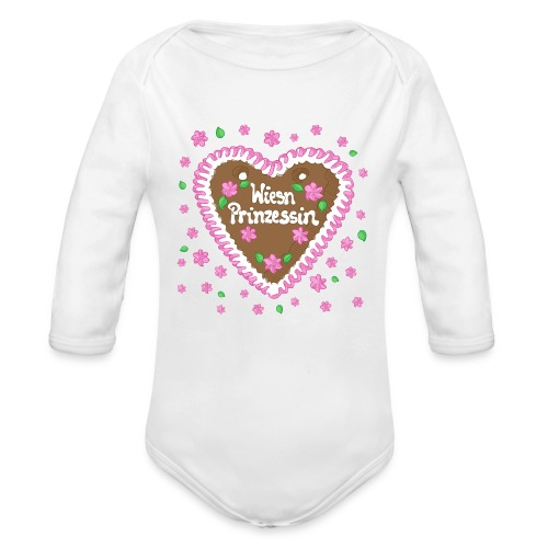 Wiesn Prinzessin - Baby Bio-Langarm-Body