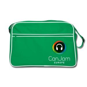 CanJam Europe - retro bag (logo wt) - Retro Bag