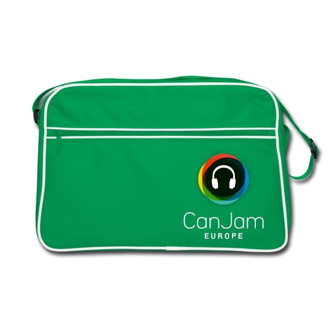 CanJam Europe - retro bag (logo wt)