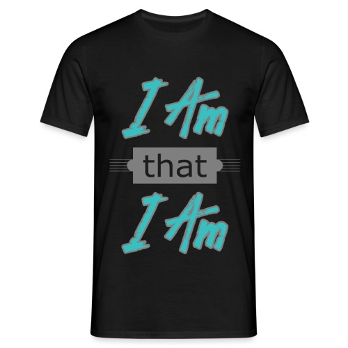 Herre T-shirt - am that I am - Herre-T-shirt