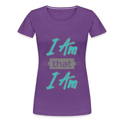 Dame T-shirt - am that I am - Dame premium T-shirt