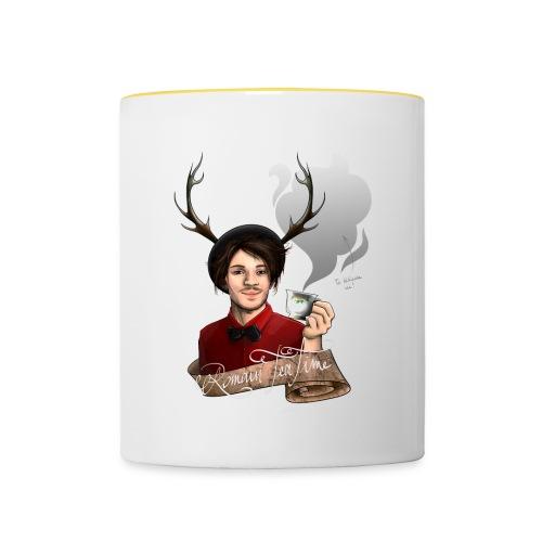 Mug dédicace! - Mug contrasté