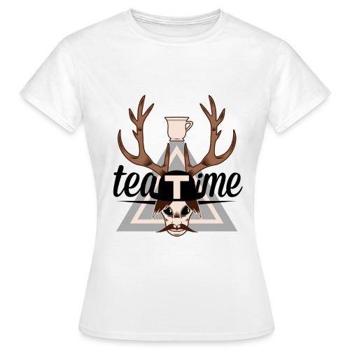 T-shirt femme logo! - T-shirt Femme