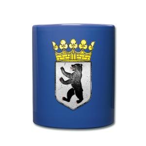 Berlin Wappen  - Tasse einfarbig