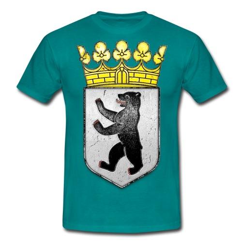 Berlin Wappen  - Männer T-Shirt