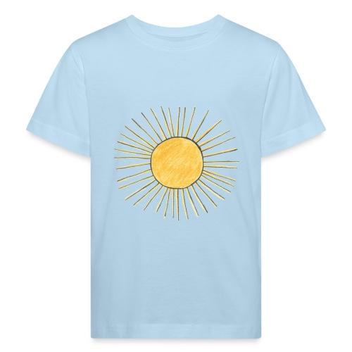 Kinder-bio-T-Shirt *Sonne* - Kinder Bio-T-Shirt