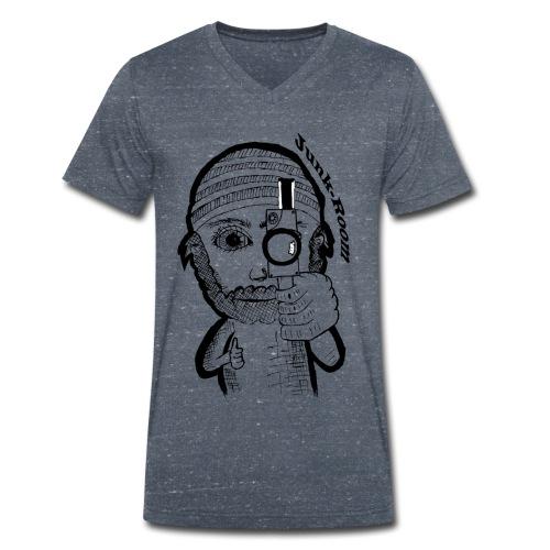 JunkRoom - Männer Bio-T-Shirt mit V-Ausschnitt von Stanley & Stella