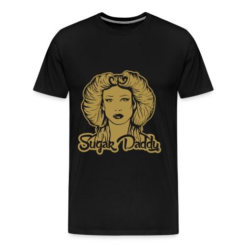 Golden Sugar Daddy (Glitter) - Men's Premium T-Shirt