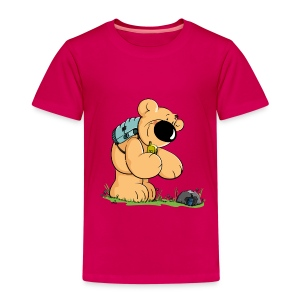 chris'bears Geocacher Bär - Kinder Premium T-Shirt