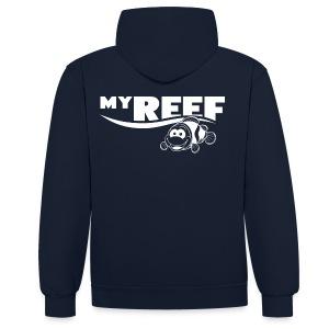Hoodie - Contrast hoodie