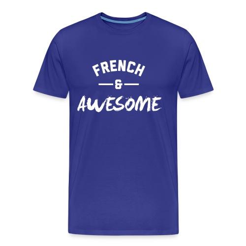France Awesome – Mens tshirts - Men's Premium T-Shirt