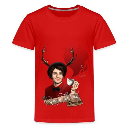 T-shirt couleur Enfant dédi! - T-shirt Premium Ado